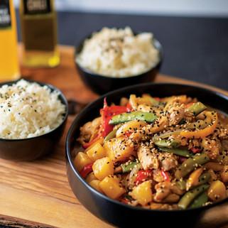 Sweet & Spicy Stir Fry