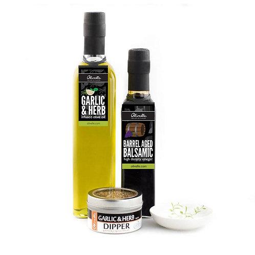 Garlic & Herb Dipping Gift Set