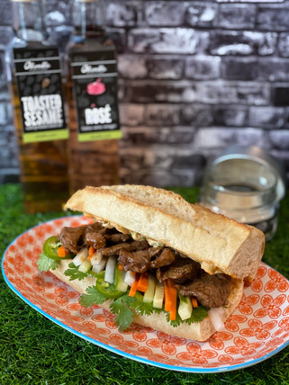 Banh Mi with Pickled Vegetables