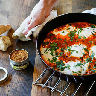 Moroccan Poached Eggs