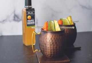 Pineapple Habanero Moscow Mule