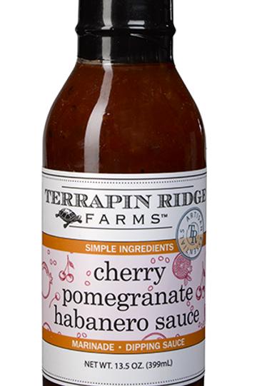 Cherry Pomegranate Habanero Sauce