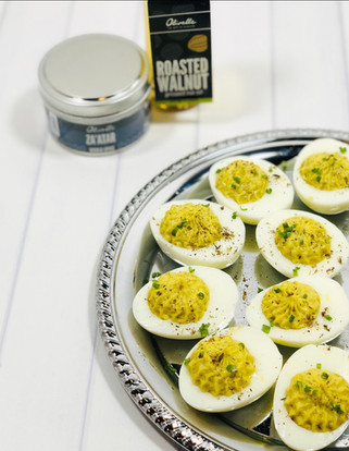 Za'atar Deviled Eggs