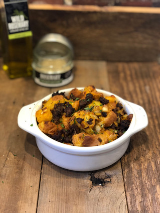 Chorizo & Mushroom Stuffing