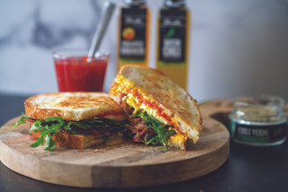 Hatch Chili Breakfast Sandwich