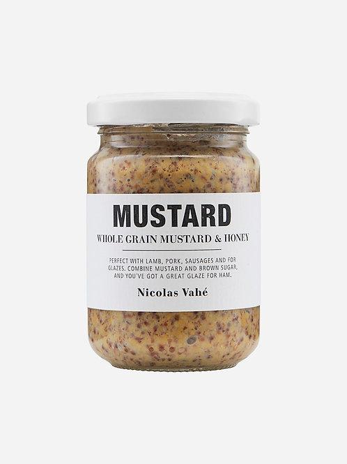 Mustard, Whole Grain With Honey