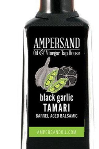 Black Garlic Tamari Barrel Aged Balsamic
