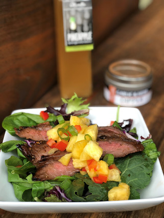 Pineapple Marinated Steak