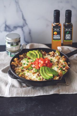 Green Chili Breakfast Hash