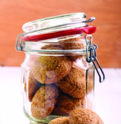 Blood Orange Molasses Cookies