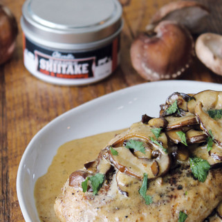 Pan Roasted Chicken with Mushrooms