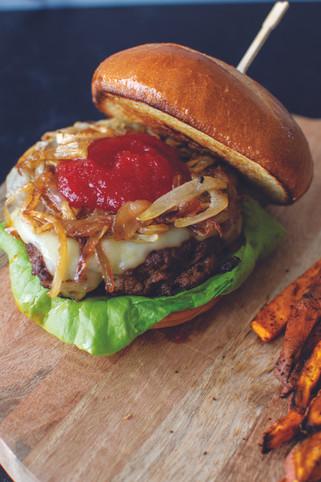 Hatch Chili Burger