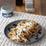Porcini Pasta with Creamy Gorgonzola Sauce