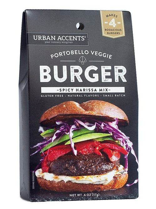Portobello Veggie Burger Seasoning Mix