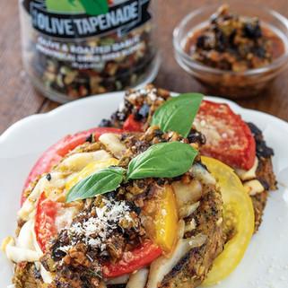 Mediterranean Eggplant & Tomato Stack