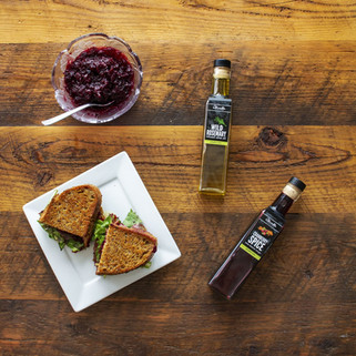 Cranberry & Herb Grilled Cheese