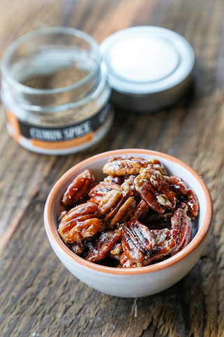 Cumin Maple Pecans