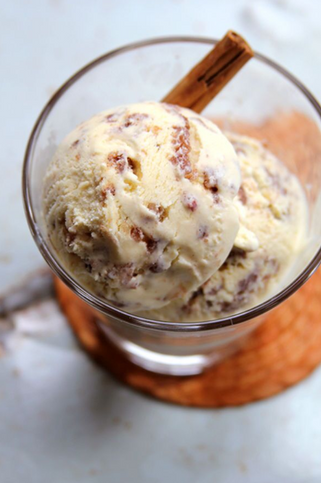 Cinnamon Sugar Ice Cream