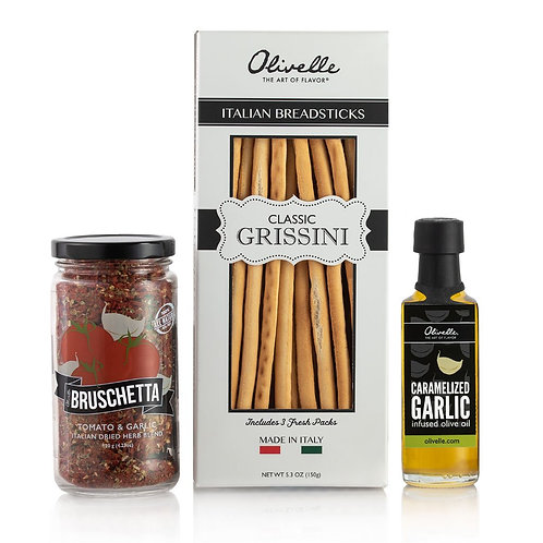 Bruschetta Grissini Gift Set