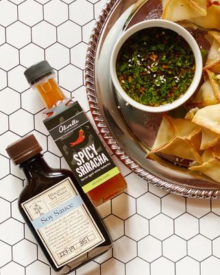 Garlic Vinegar Dipping Sauce