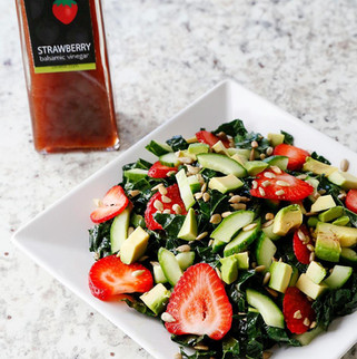 Strawberry Kale Salad
