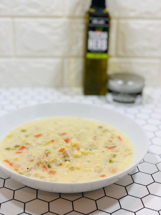 Thanksgiving Turkey Noodle Soup