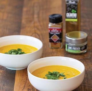 Coconut Chai Carrot Soup