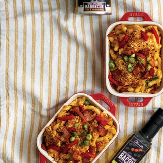 Southern Style Bacon & Pimento Mac & Cheese