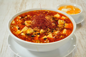 激辛麻婆豆腐湯麺