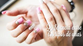 La diferencia entre acrílico, gel y uñas de gel.