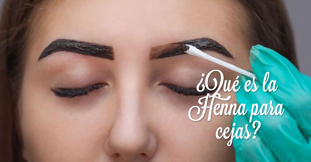 Qué es henna para cejas