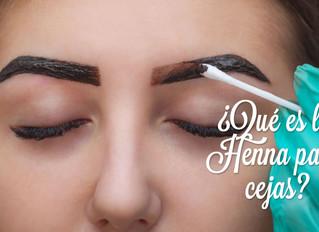 ¿Qué es Henna para cejas?