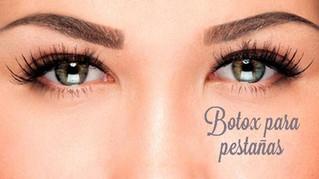 ¿Botox para mis pestañas?