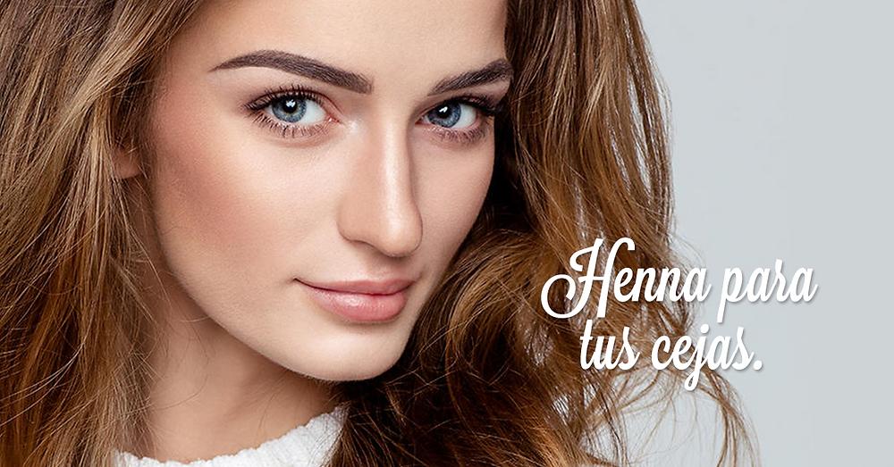 Henna para tus cejas