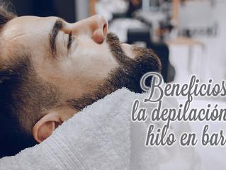 3 beneficios de la depilación con hilo en barba para hombres.