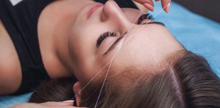 5 beneficios de la depilación con hilo