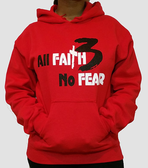 Women All Faith 3 No Fear Hoodie