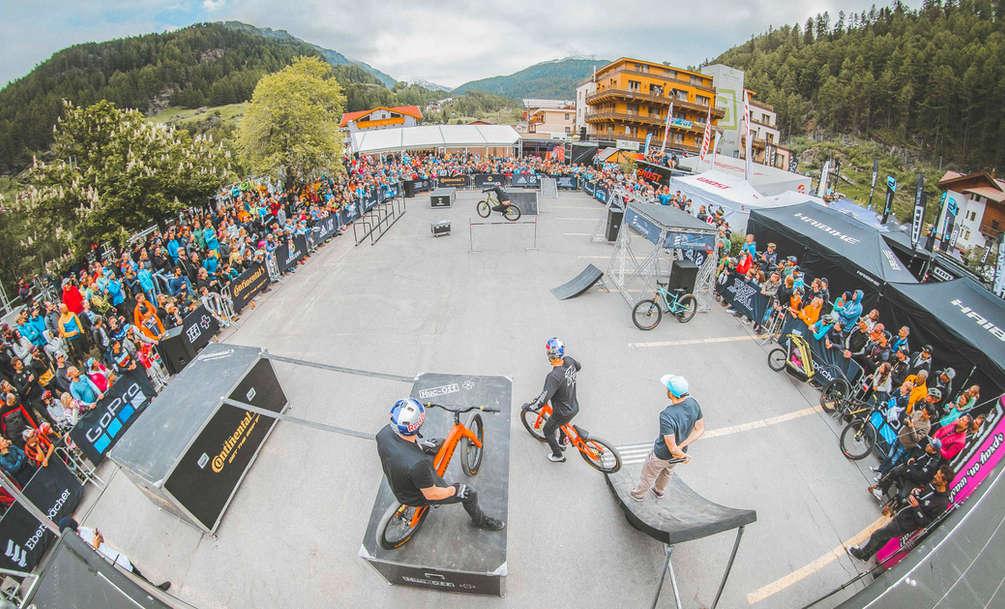 DROP AND ROLL TOUR   SOLDEN, AUSTRIA