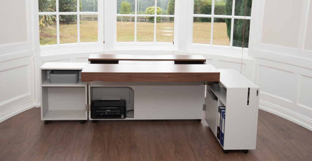 A stylish home working desk
