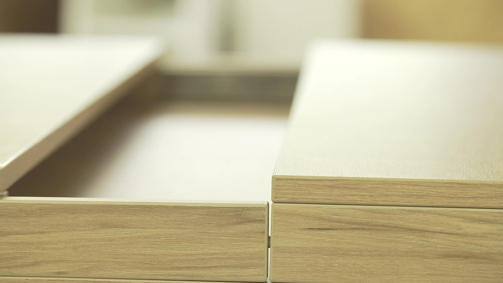 decluttering your home with hidden sliding drawers