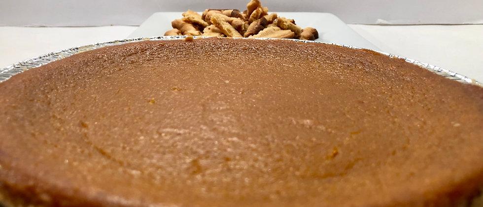 9-inch Splenda - Low Carb Sweet Potato Pie (Sugar Free)