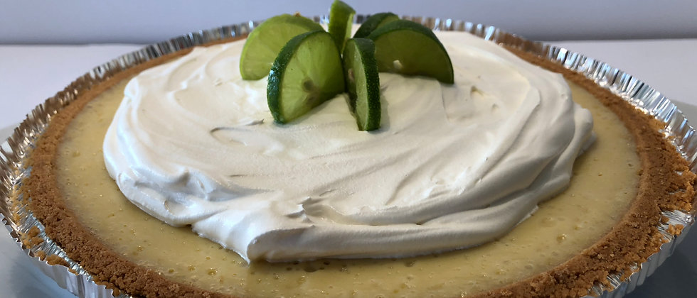 9-inch Southern Key Lime Pie
