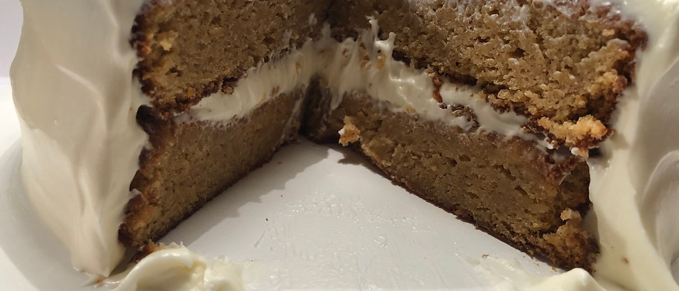 LA Sweet Potato Cake