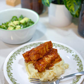 Tangy BBQ Tempeh