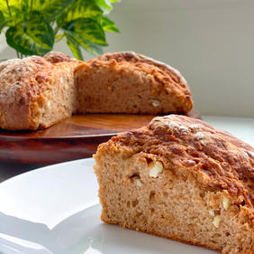 Tomato Feta Soda Bread