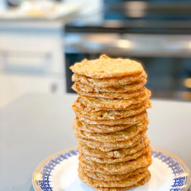 Oatmeal & Almond Lace Cookies