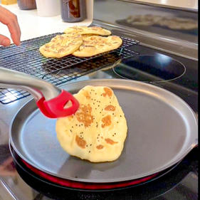 """""""Nothin' to it"""" Naan"""