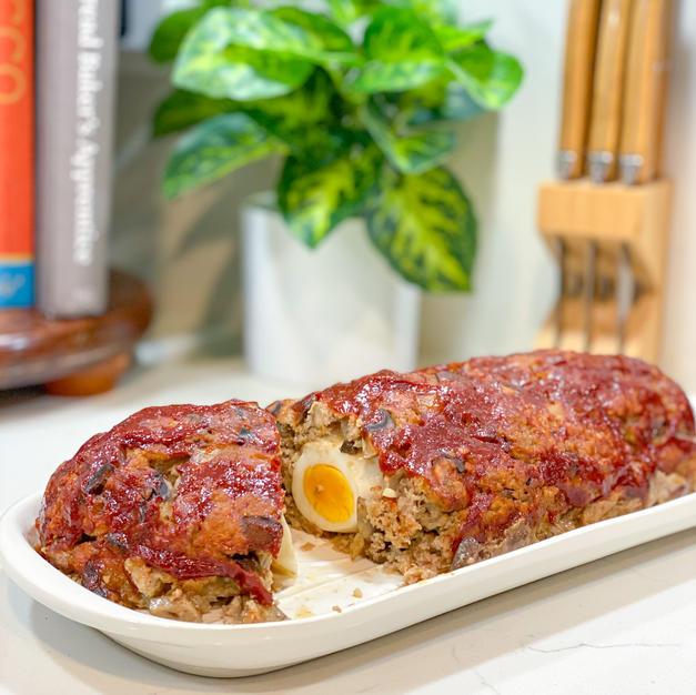 """Not-dry"" Turkey Meatloaf"
