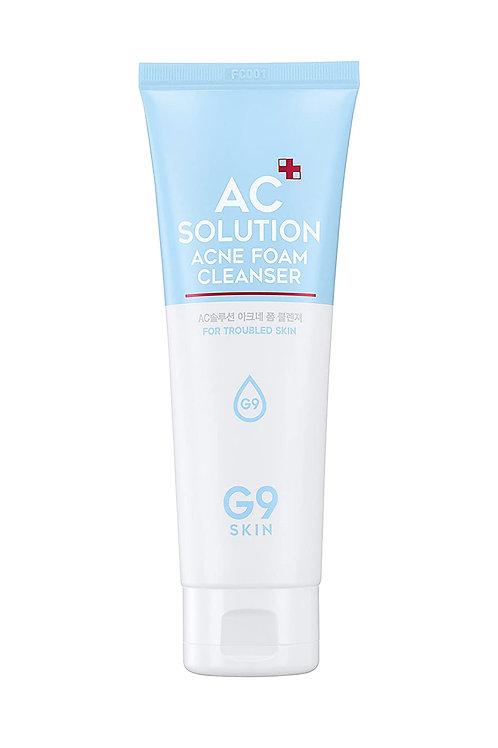 G9SKIN - AC Solution Acne Foam Cleanser 120ml