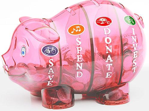 Money Savvy Pig - PINK